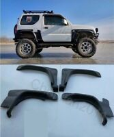 Car Fender Flare Trim Kit Wheel Arch Cover For 2007-2018 Suzuki Jimny BLACK 4ps