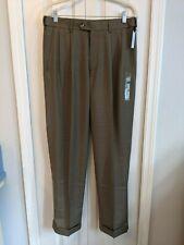 Men's Croft & Barrow Dress Pants 32 x 30 New With Tag