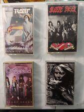Cinderella,Sleeze Beez,Vince Neil,Ratt Cassette Lot