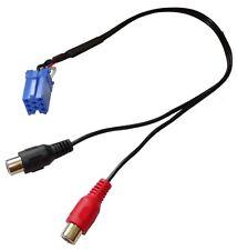 Adaptateur Câble AUX mini ISO - RCA pour SMART Fortwo Forfour autoradio Grundig