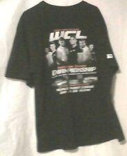 WCL World Combat League Chuck Norris Mens T-Shirt XL Gildan Active Wear Tee