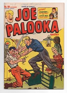 HARVEY COMICS  JOE PALOOKA  50  1950  LITTLE MAX
