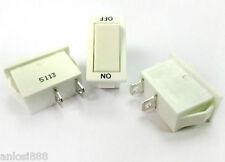 5PCS ON/OFF SPST Rocker Switch 16A 250VAC