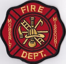 Moberly Fire Dept. MO Firefighter Patch