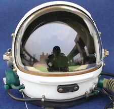 RARE Flight Helmet High Altitude Astronaut Space Pilots Pressured Size:1# XXL DD