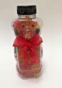 Honey Bear with Flip Top Lid Plastic Squeeze Bear Wedding Party Favors - 12 oz.
