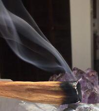 3 PALO SANTO STICKS! Holy Wood Incense Smudging Cleansing Crystals Shaman Pagan