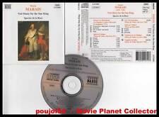 """Marin MARAIS """"Viol Music For The Sun King"""" (CD) 1995"""