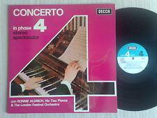 RONNIE ALDRICH & THE LONDON ORCHESTRA - CONCERTO PHASE 4 - LP 33 GIRI