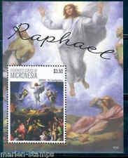 MICRONESIA 2013  RAPHAEL SOUVENIR SHEET MINT NH