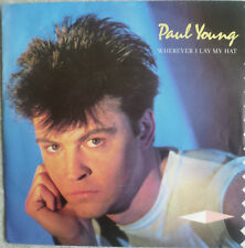 "7""! 1983 Paul Young; wherever I Lay My Hat/MINT - \"