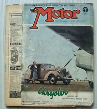 The MOTOR Magazine 31 May 1938 3 ½ Litre SS Jaguar Tested RIPPON DAIMLER