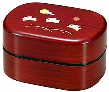 Kenroku Bento Keyaki Usagi, Double Lunch Box, Made in Japan