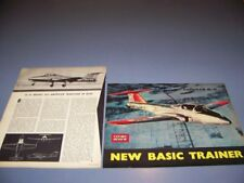VINTAGE..CANADAIR CL-41...HISTORY/SPECS/3-VIEWS/PHOTOS ..RARE! (312Q)