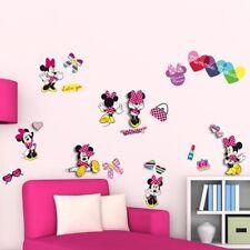 Decorazione muro Adesivi removibili 3D Minnie Disney 2 fogli 24204 bambini ca...