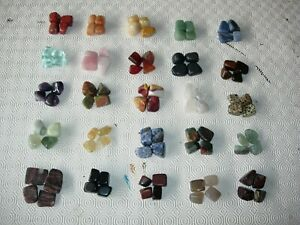 100 mixed tumble top up stones 4 of each wholesale 33p each