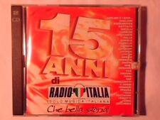 2CD 15 anni di Radio Italia GIORGIA LITFIBA VASCO ROSSI POOH RENATO ZERO MINA