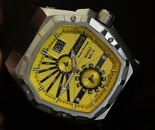 Renato Master Horologe Men's Mostro MK-11 Limited Edition Yellow Dial Watch