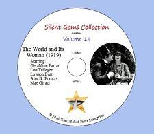 "DVD ""The World and Its Woman"" (1919) Frank Lloyd, Geraldine Farrar,Classic Drama"