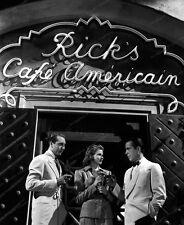 8x10 Print Humphrey Bogart Ingrid Bergman Casablanca 1943 #Hb81