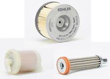Kohler Diesel Lombardini Air Filter, Fuel Filter, Oil Filter for KD440 Engine