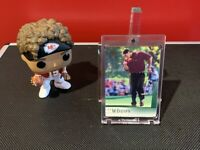 2001 Upper Deck Tiger Woods Rookie #1 PGA Tour Masters Stanford!!