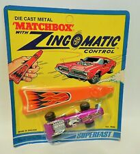 Matchbox Superfast Zingomatic Purple Formula 1 Race Car in Sealed Blister Pack