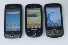 Lot of 3 Working Samsung Android Smartphones - Focus 2 / Admire / Galaxy Ace 2