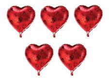 Ballons de fête rouge sans marque pour la maison Saint Valentin