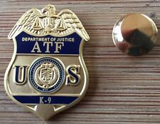ATF - K9 handler - Alcohol Tobacco and Firearms badge lapel pin