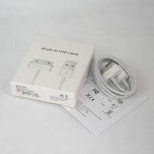 Original 30-pin to USB Data Sync Cable Charger For Apple iphone 4 4S 3G 3GS iPod