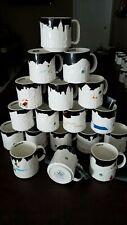 YOU PICK - Starbucks Mug black CITY RELIEF Series 16 oz Collectors mugs with SKU