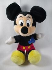 "Mickey Mouse Disney 11"" Stuffed Animal Doll Figure Plush New With Tags"