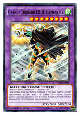 GRANDE TORNADO EROE ELEMENTALE Elemental Hero Great SDHS-IT045 Comune Ita YUGIOH
