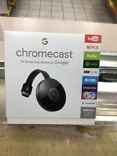 Google Chromecast HDMI Media Streaming Player Black 2015 Latest Model Brand New