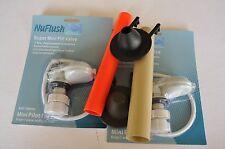 Eljer, Kohler Toilet Replacement Parts, 2 Tubes, 2 Valves, 2 Flapper by NuFlush