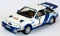 TROFEU 125 9116 FORD SIERRA COSWORTH model rally cars Duez Lopes Blomqvist 1:43
