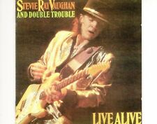 CD STEVIE RAY VAUGHAN & DOUBLE TROUBLE	live alive	HOLLAND EX 1986 (A0736)