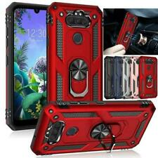 Armor Shock Ring Stand Magnet Car Mount Military Case Cover For LG Aristo 5 /K31