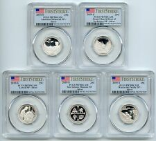 2019 S Silver National Parks Quarter Set PCGS PR70DCAM First Strike