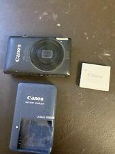 Canon PowerShot ELPH 300 HS / IXUS 115 HS 12.1MP Digital Camera - Black