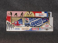 New York Giants 1995 Die Cast Matchbox Team Logo Truck Trailer 8 inches