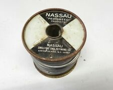 Nassan 5Lb Stearine Core Solder Roll #7242