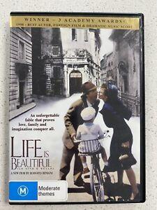 Life Is Beautiful (DVD, 2000) Roberto Benigni
