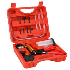 17pcs Professional Car Auto Hand Held Vacuum Pressure Pump Brake Bleeder S8H8