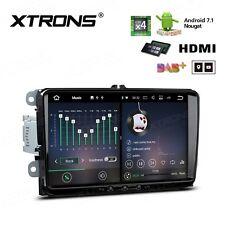 Android 7.1 9 Zoll Touch GPS DAB+ Autoradio RDS Navi Für VW EOS Passat Golf V VI