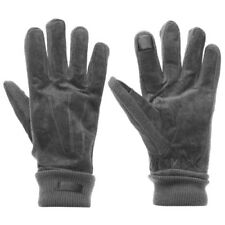 Pierre Cardin REAL Leather Suede Gloves Men's Grey A561