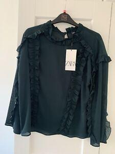 Zara Blouse Size M