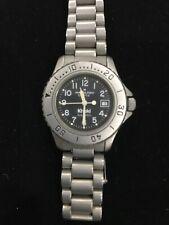 HAMILTON 85878 Khaki Sub 660FT Silver Tone Watch 30MM