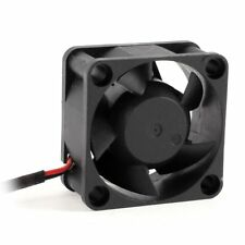 3X(40mm DC 5V 6.42CFM Chipset Cooling Fan Black for Computer CPU Cooler DW